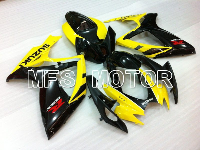 Iniezione Carenatura ABS per Suzuki GSXR600 GSXR750 2006-2007 - Factory Style - Black Yellow - MFS2415 - shopping e ingrosso