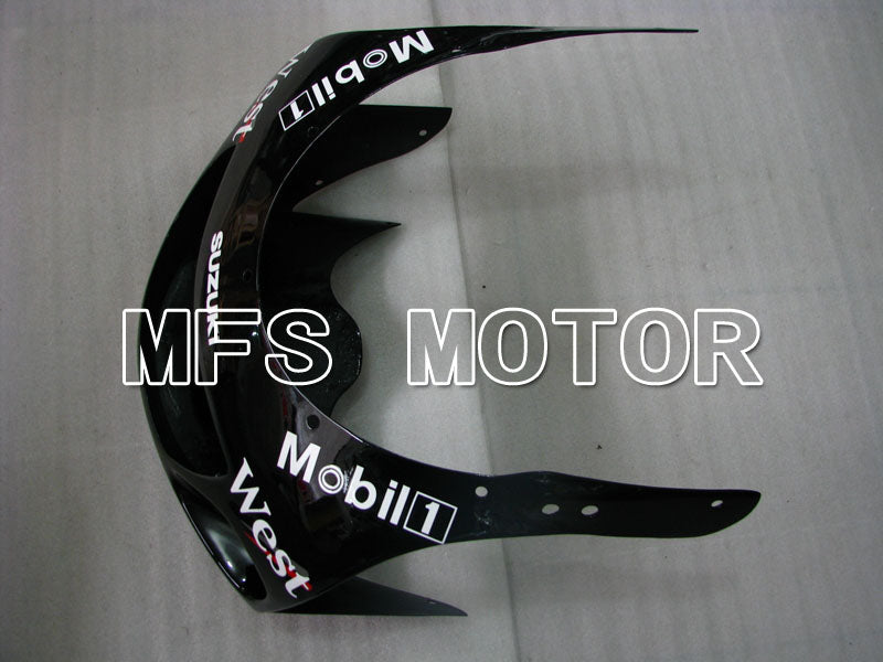Carenado ABS para Suzuki GSXR600 1997-2000 - West - Negro Blanco - MFS2535 - compras y venta al por mayor