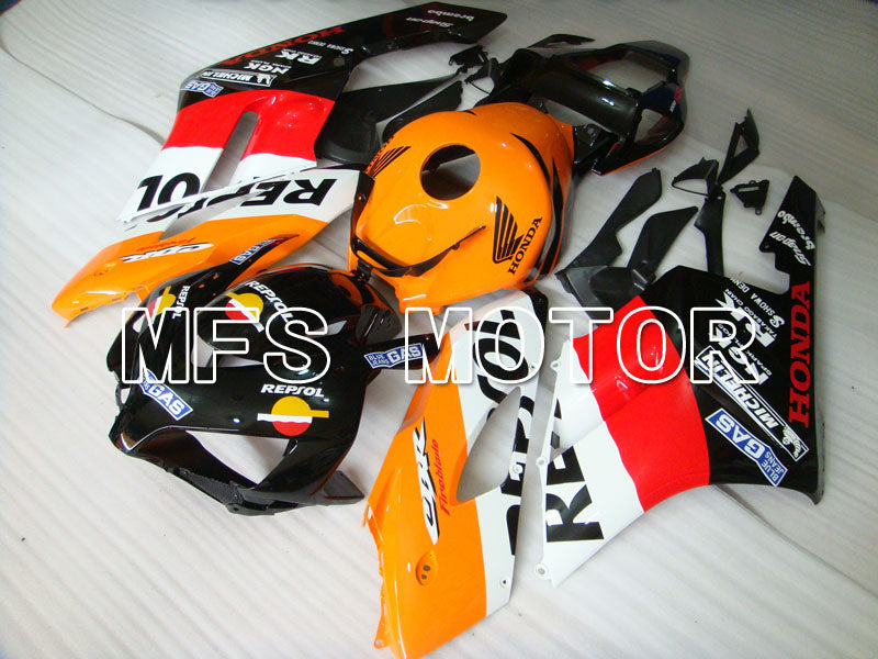 Injection ABS Fairing For Honda CBR1000RR 2004-2005 - Repsol - Red Orange Black - MFS2536 - shopping and wholesale