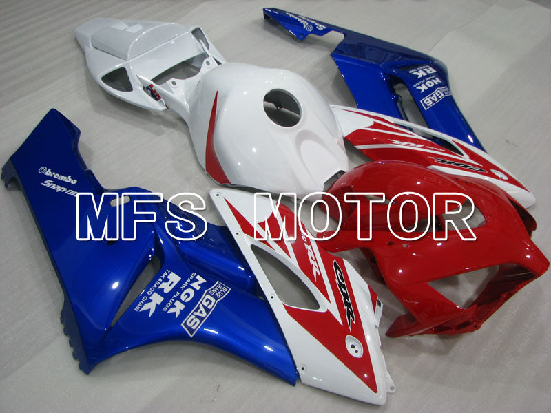 Injection ABS Fairing For Honda CBR600RR 2013-2017 - RK - Red White Blue - MFS2550 - shopping and wholesale