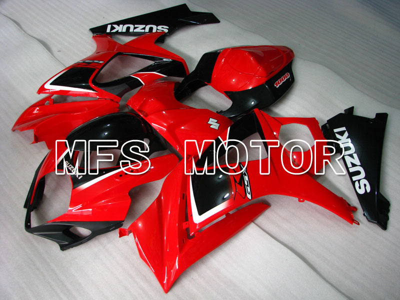 Iniezione ABS Carena per Suzuki GSXR1000 2007-2008 - Factory Style - Black Red - MFS2675 - shopping e ingrosso
