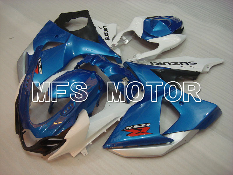 Injection ABS Fairing For Suzuki GSXR1000 2009-2016 - Factory Style - White Blue - MFS2707 - shopping and wholesale