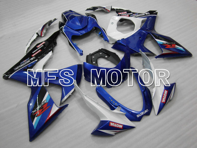 Injection ABS Fairing For Suzuki GSXR1000 2009-2016 - Factory Style - White Blue - MFS2708 - shopping and wholesale