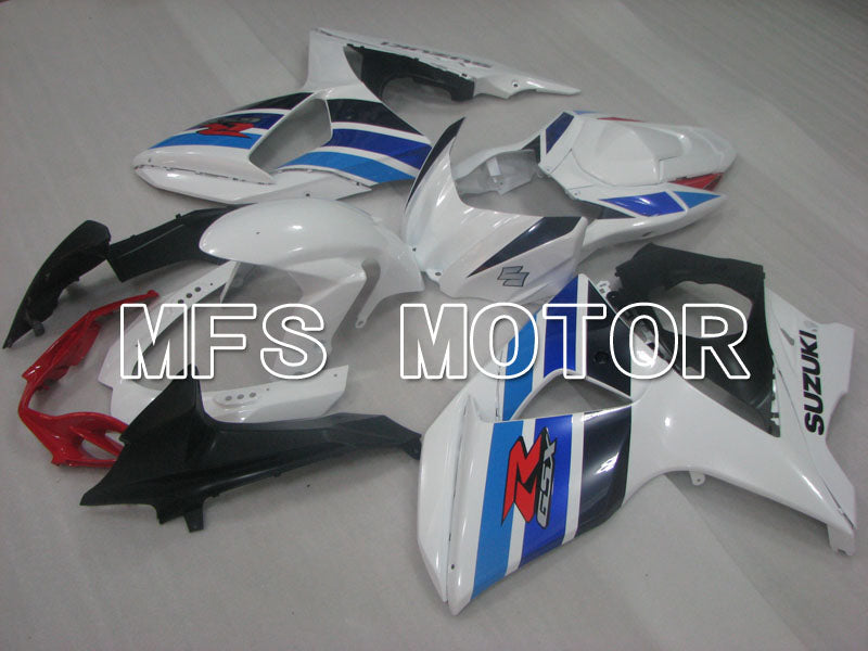 Injection ABS Fairing For Suzuki GSXR1000 2009-2016 - Factory Style - White Blue - MFS2709 - shopping and wholesale