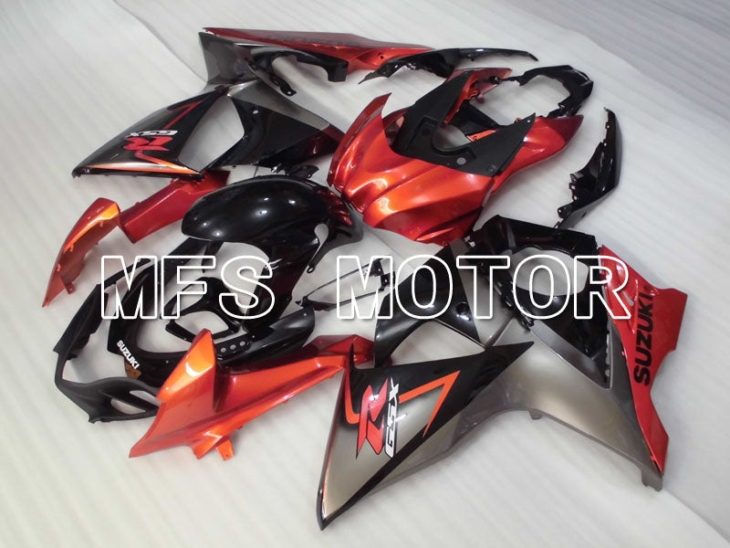 Injection ABS Fairing For Suzuki GSXR1000 2009-2016 - Factory Style - Black Orange - MFS2713 - shopping and wholesale