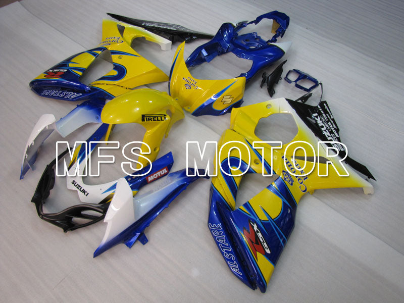 Injection ABS Fairing For Suzuki GSXR1000 2009-2016 - Corona - Yellow Blue - MFS2714 - shopping and wholesale