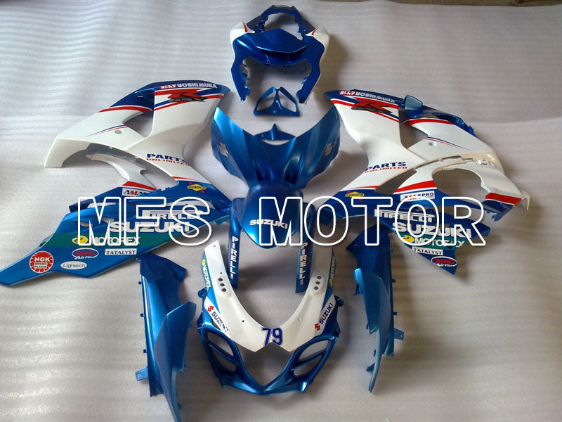 Injection ABS Fairing For Suzuki GSXR1000 2009-2016 - Customize - White Blue - MFS2715 - shopping and wholesale