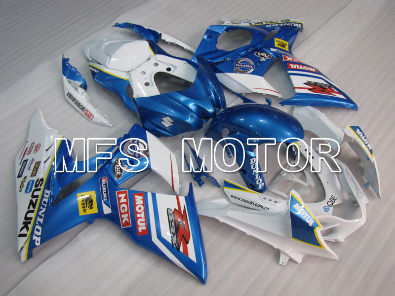 Injection ABS Fairing For Suzuki GSXR1000 2009-2016 - Customize - White Blue - MFS2716 - shopping and wholesale