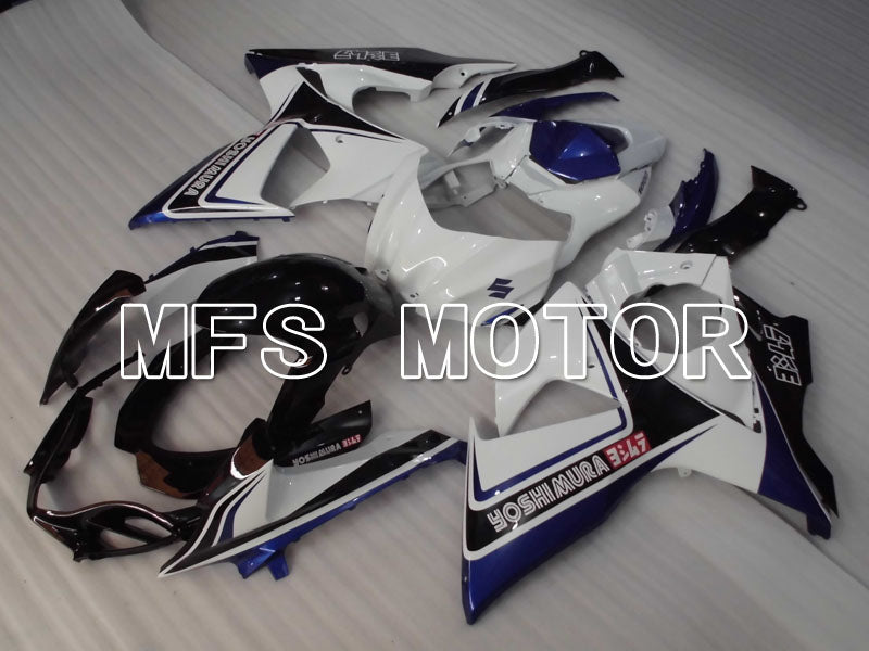 Injection ABS Fairing For Suzuki GSXR1000 2009-2016 - YOSHIMURA - Black White Blue - MFS2719 - shopping and wholesale