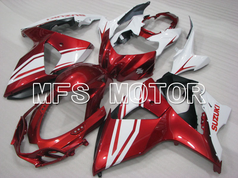 Injection ABS Fairing For Suzuki GSXR1000 2009-2016 - Factory Style - White Red - MFS2722 - shopping and wholesale