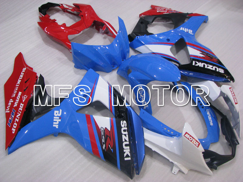 Iniezione ABS Carena per Suzuki GSXR1000 2009-2016 - Factory Style - Blue Red - MFS2724 - shopping e ingrosso