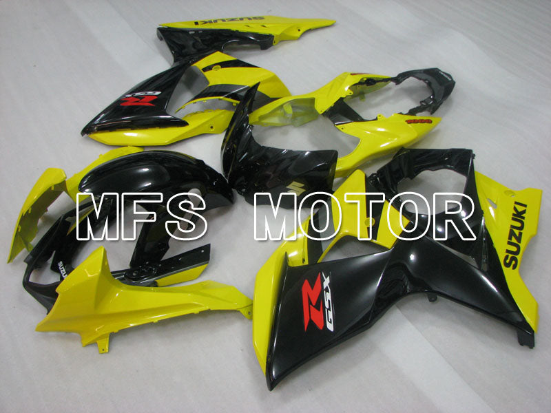 Injection ABS Fairing For Suzuki GSXR1000 2009-2016 - Factory Style - Black Yellow - MFS2725 - shopping and wholesale