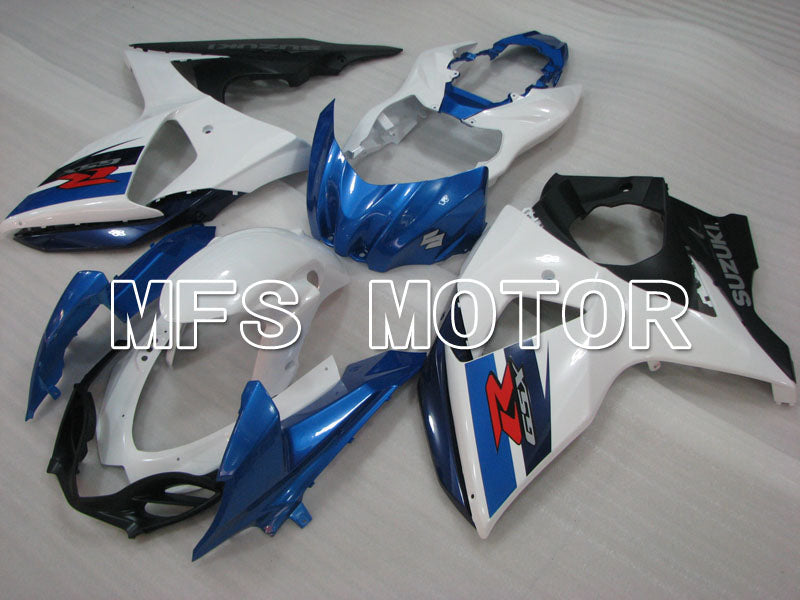 Injection ABS Fairing For Suzuki GSXR1000 2009-2016 - Factory Style - White Blue - MFS2726 - shopping and wholesale