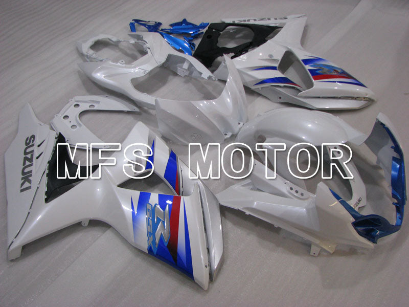 Injection ABS Fairing For Suzuki GSXR1000 2009-2016 - Factory Style - White Blue - MFS2734 - shopping and wholesale