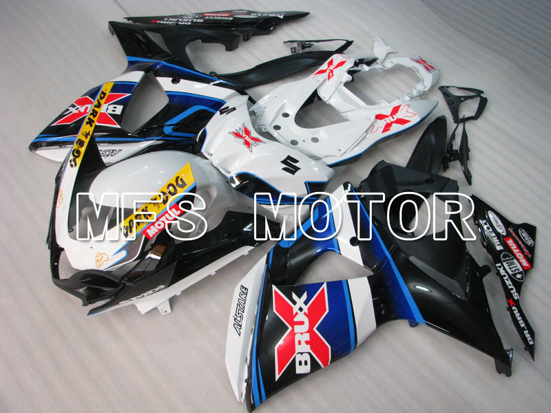 Injection ABS Fairing For Suzuki GSXR1000 2009-2016 - BRUX - Black White - MFS2735 - shopping and wholesale