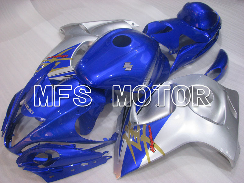 Injection ABS Fairing For Suzuki GSXR1300 Hayabusa 2008-2015 - Factory Style - Blue Silver - MFS2752 - shopping and wholesale