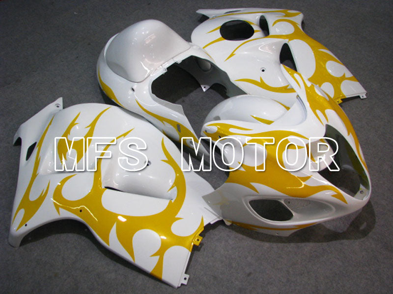 Injection ABS Fairing For Suzuki GSXR1300 Hayabusa 2008-2015 - Factory Style - White Yellow - MFS2754 - shopping and wholesale