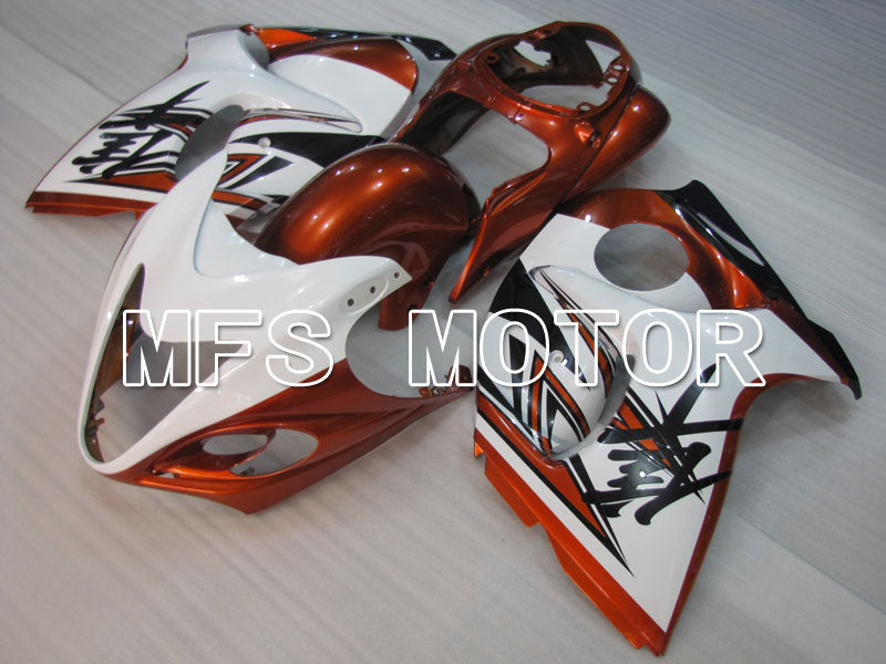 Injeksjon ABS Fairing For Suzuki GSXR1300 Hayabusa 2008-2015 - Fabrikkstil - Orange Hvit - MFS2757 - Shopping og engros