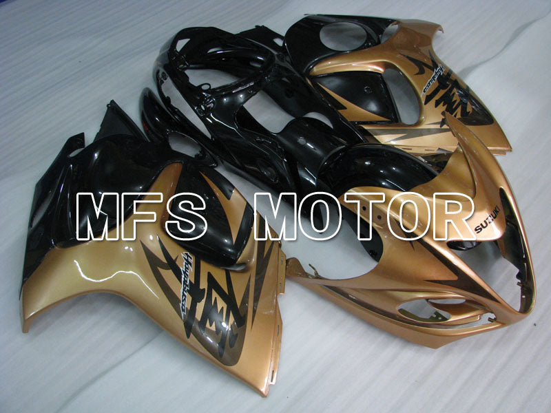 Injection ABS Fairing For Suzuki GSXR1300 Hayabusa 2008-2015 - Factory Style - Black Gold - MFS2758 - shopping and wholesale