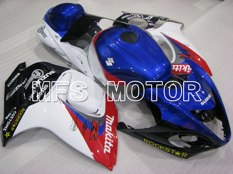 Injection ABS Fairing For Suzuki GSXR1300 Hayabusa 2008-2015 - Factory Style - Blue White - MFS2769 - shopping and wholesale