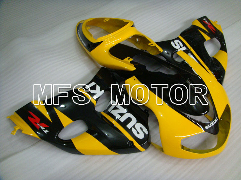 Injection ABS Fairing For Suzuki TL1000R 1998-2003 - Fabriksstil - Sort Gul - MFS2818 - Shopping og engros