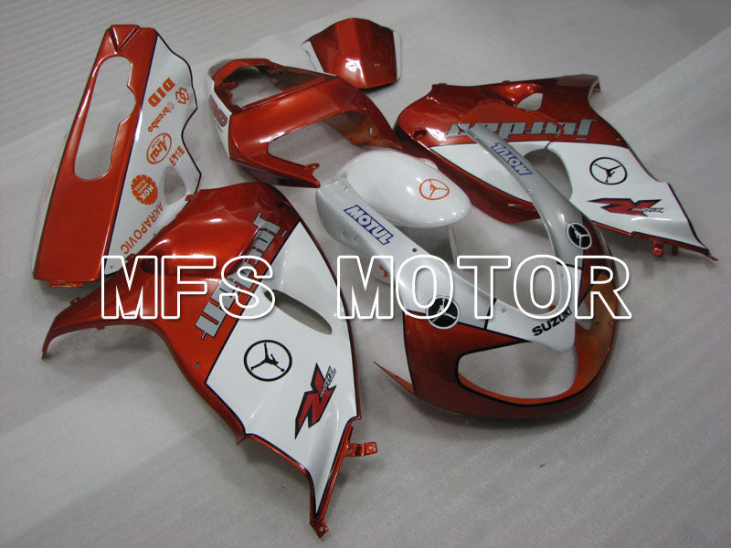 Injection ABS Fairing For Suzuki TL1000R 1998-2003 - Jordan - Orange White - MFS2821 - shopping and wholesale