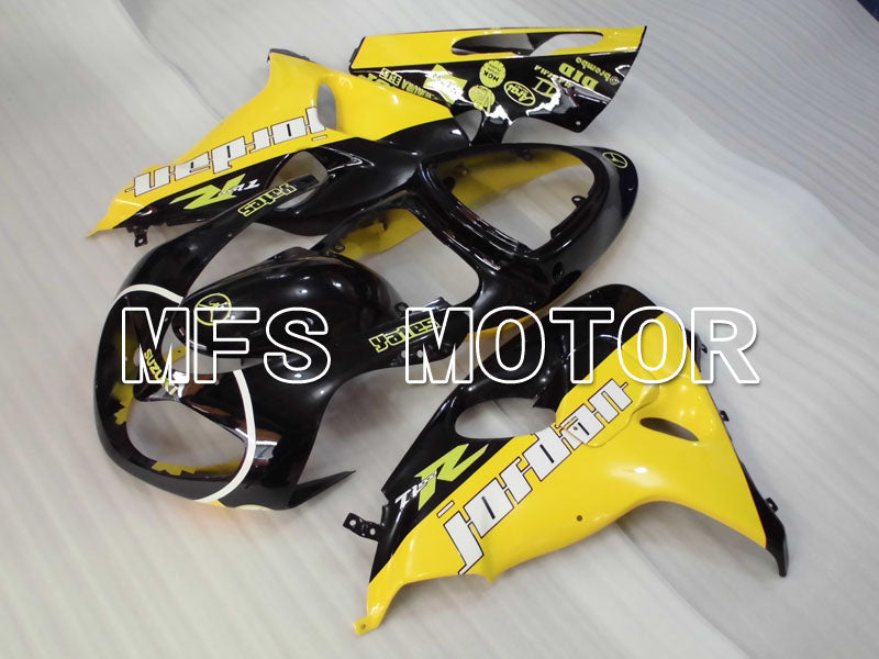 Injection ABS Fairing For Suzuki TL1000R 1998-2003 - Jordan - Sort Gul - MFS2822 - Shopping og engros