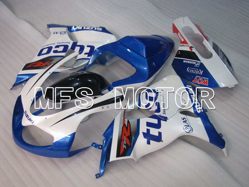 Injection ABS Fairing For Suzuki TL1000R 1998-2003 - Tyco - Blå Hvid - MFS2823 - Shopping og engros