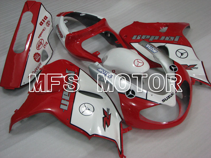 Injection ABS Fairing For Suzuki TL1000R 1998-2003 - Jordan - Rød Hvid - MFS2831 - Shopping og engros