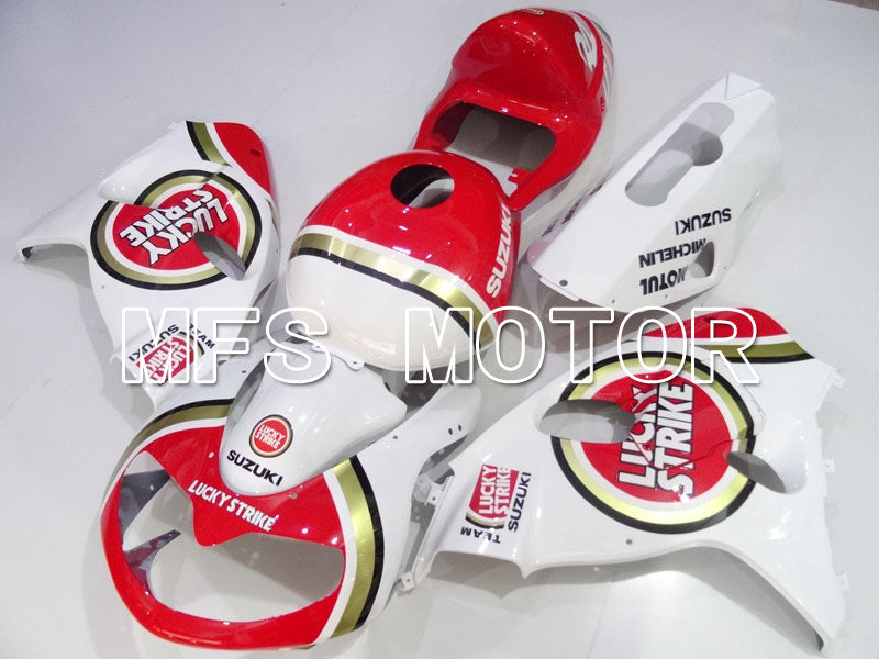 Injeksjon ABS Fairing For Suzuki TL1000R 1998-2003 - Lucky Strike - Rød Hvit - MFS2834 - Shopping og engros