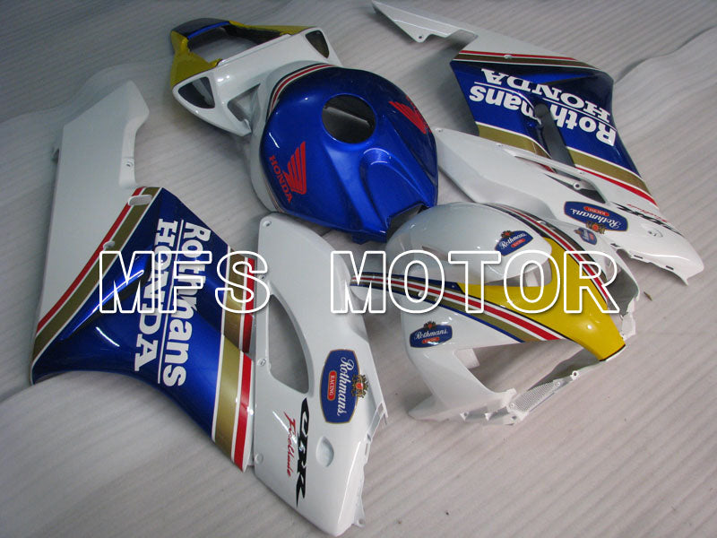 Injection ABS Fairing For Honda CBR1000RR 2004-2005 - Rothmans - White Blue - MFS2859 - shopping and wholesale