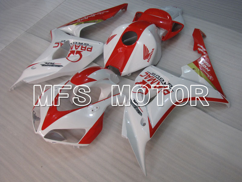 Injection ABS Fairing For Honda CBR1000RR 2006-2007 - PRAMAC - Red White - MFS2906 - shopping and wholesale