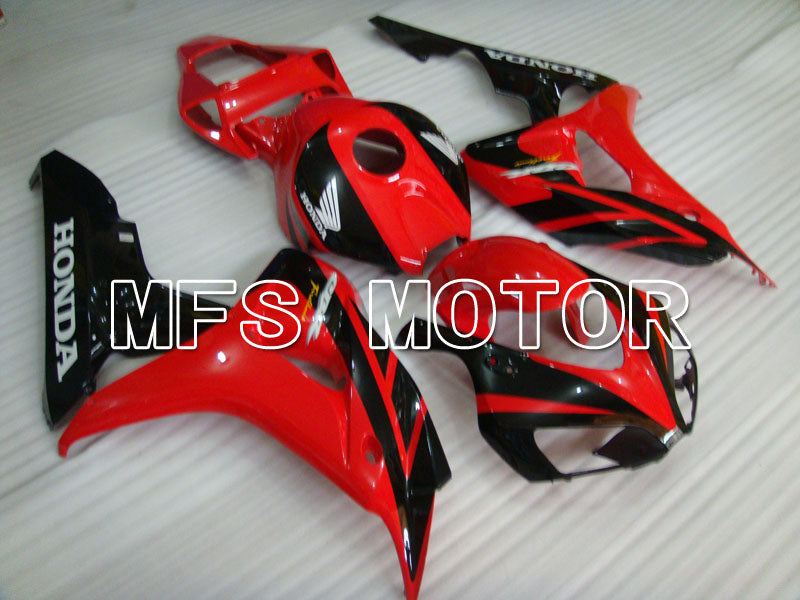Injection ABS Fairing For Honda CBR1000RR 2006-2007 - Factory Style - Black Red - MFS2935 - shopping and wholesale