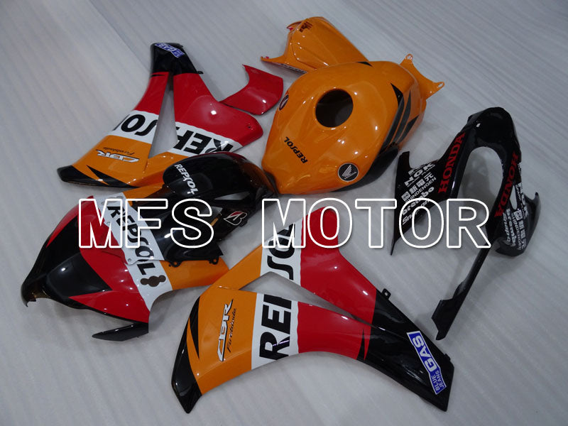 Injeksjon ABS Fairing For Honda CBR1000RR 2008-2011 - Repsol - Orange Rød Svart - MFS3001 - Shopping og engros