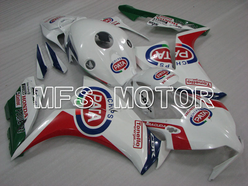 Injection ABS Fairing For Honda CBR1000RR 2012-2016 - PATA - Red White - MFS3006 - shopping and wholesale