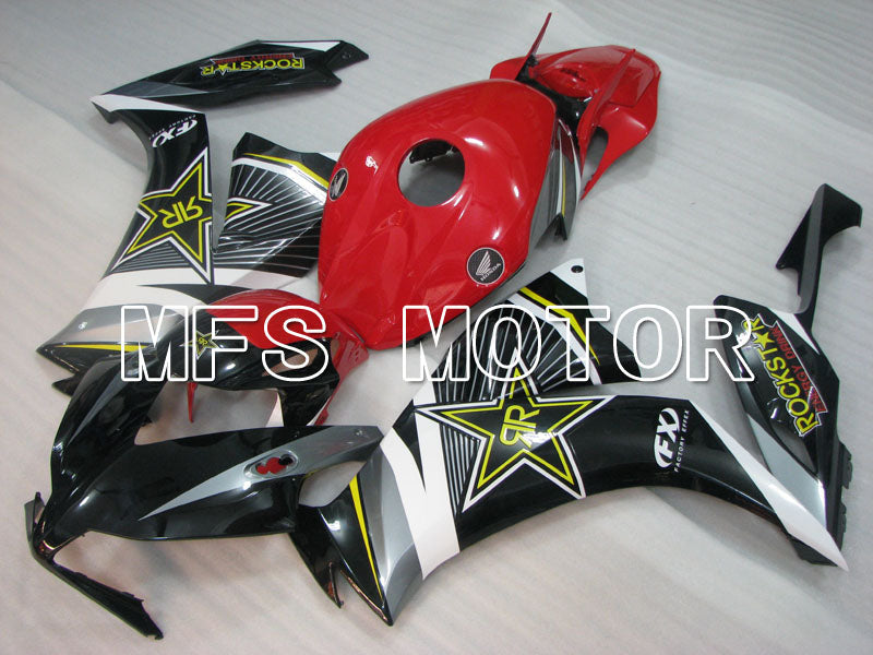 Injection ABS Fairing For Honda CBR1000RR 2012-2016 - Rockstar - Black Red - MFS3011 - shopping and wholesale