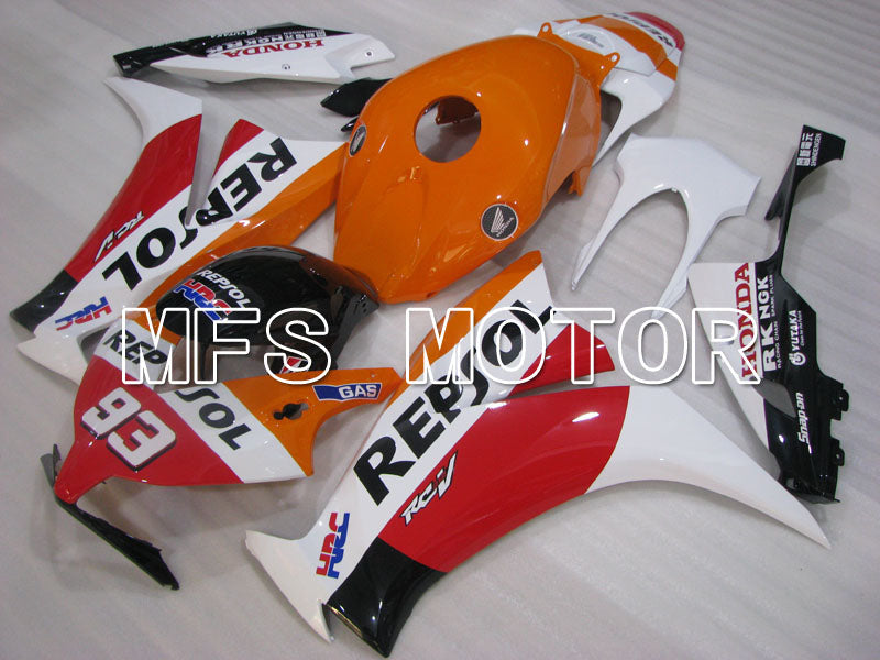 Injeksjon ABS Fairing For Honda CBR1000RR 2012-2016 - Repsol - Hvit Orange Rød - MFS3018 - Shopping og engros