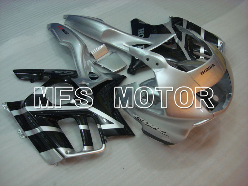 Injection ABS Fairing For Honda CBR600 F3 1995-1996 - Fabriksstil - Sort Sølv - MFS3045 - Shopping og engros