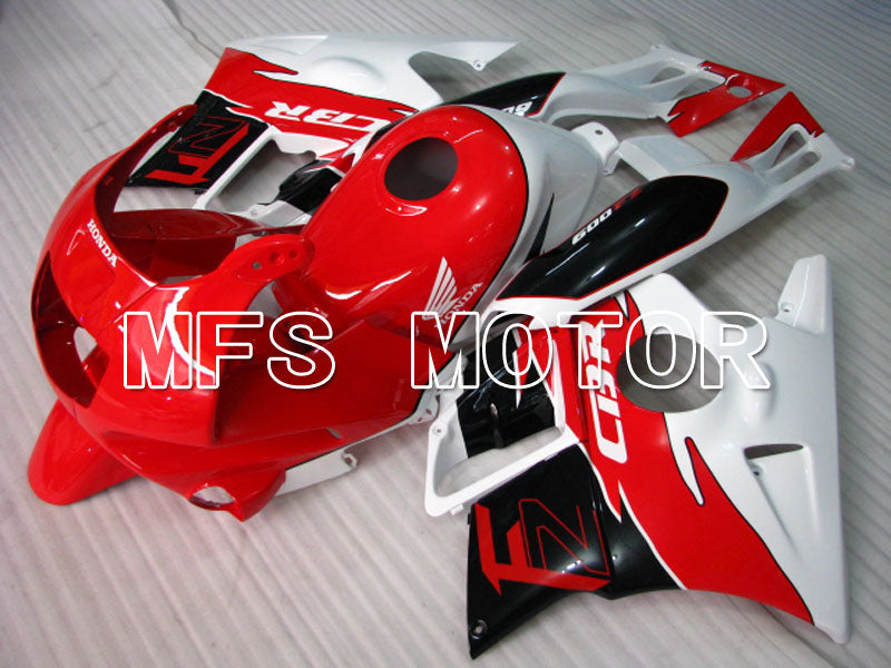 ABS Fairing For Honda CBR600 F2 1991-1994 - Fabriksstil - Sort Rød Hvid - MFS3095 - Shopping og engros