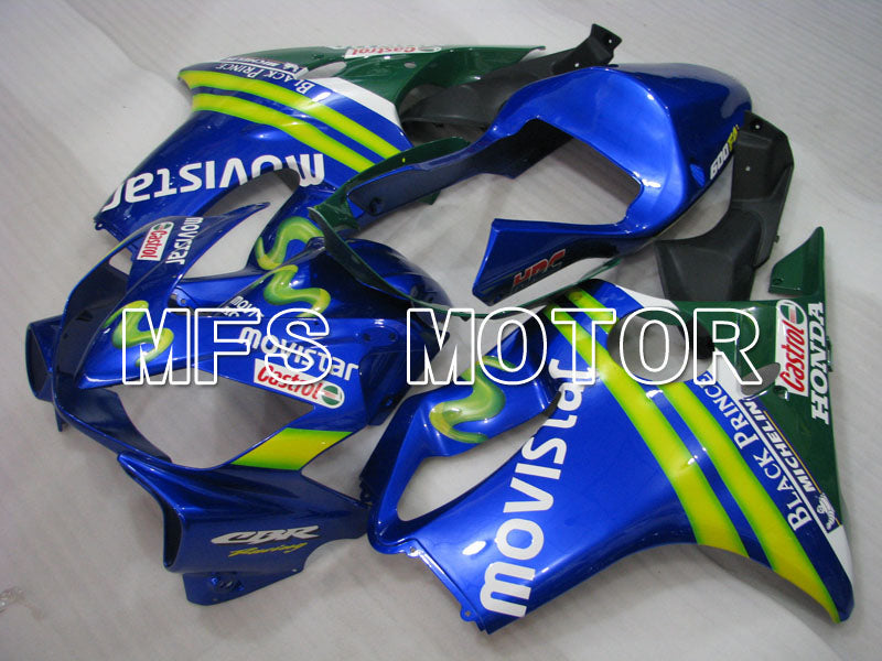 Injection ABS Fairing For Honda CBR600 F4i 2001-2003 - Movistar - Blå - MFS3148 - Shopping og engros