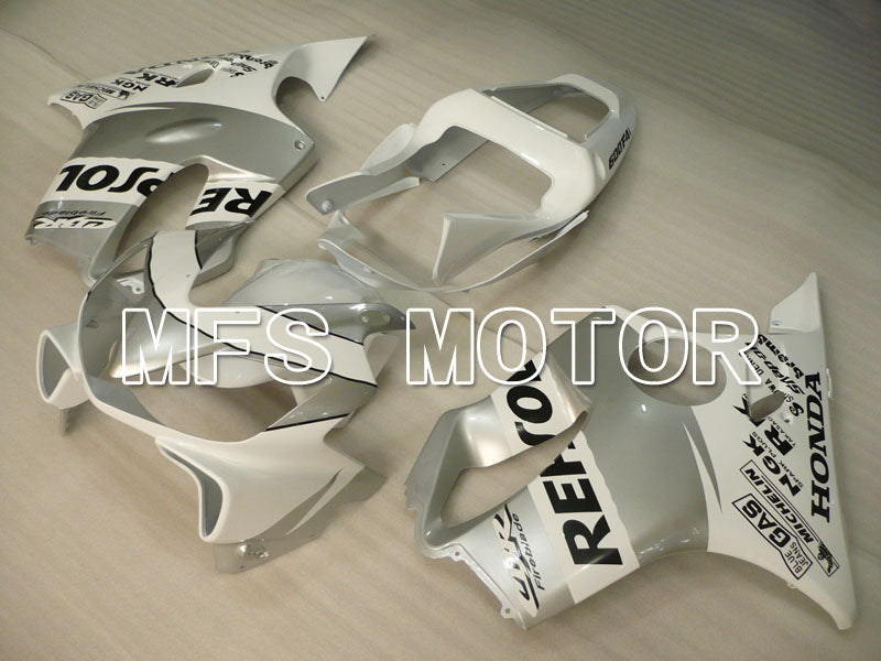 Injection ABS Fairing For Honda CBR600 F4i 2001-2003 - Repsol - White Silver - MFS3162 - shopping and wholesale