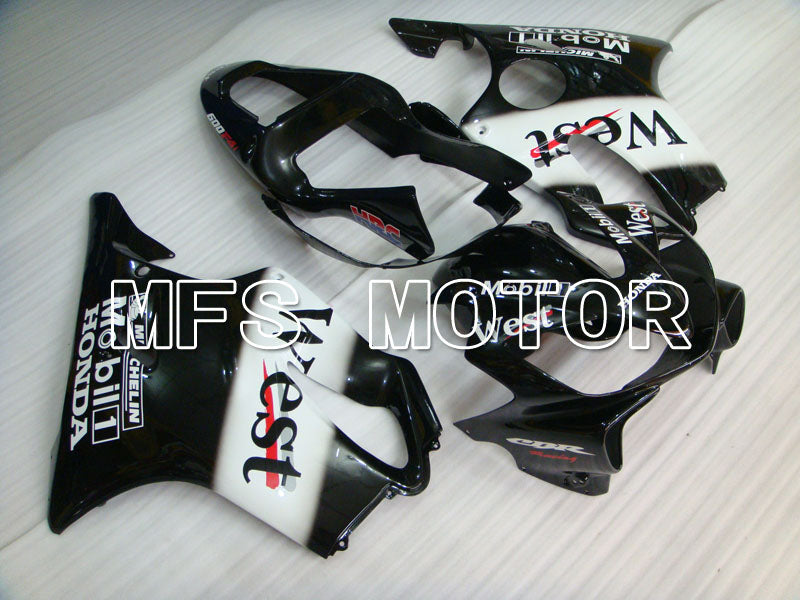 Injection ABS Fairing For Honda CBR600 F4i 2001-2003 - Repsol - Black White - MFS3164 - shopping and wholesale