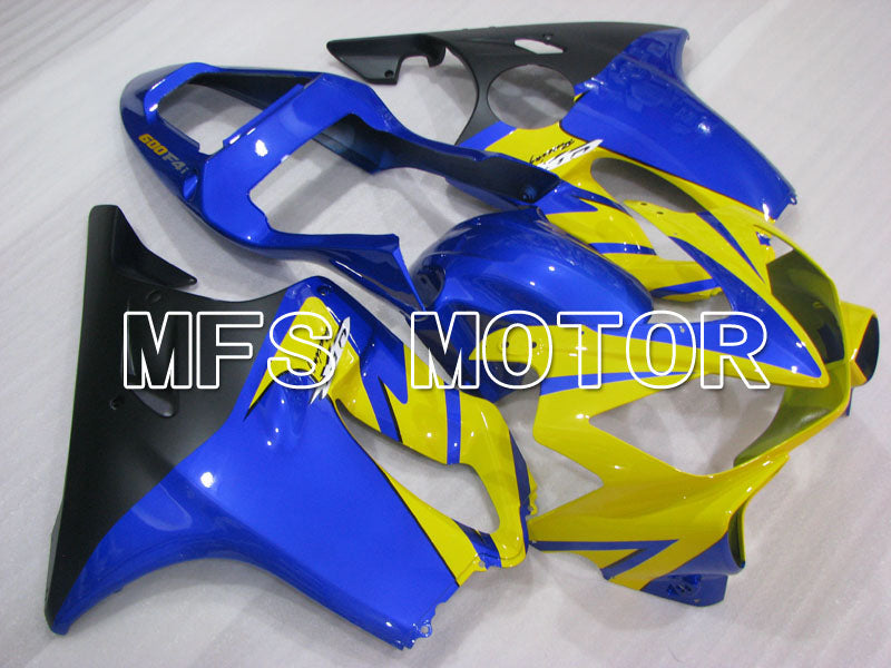 Injection ABS Fairing för Honda CBR600 F4i 2001-2003 - Fabriksstil - Blå Gul - MFS3167 - Shopping och grossist