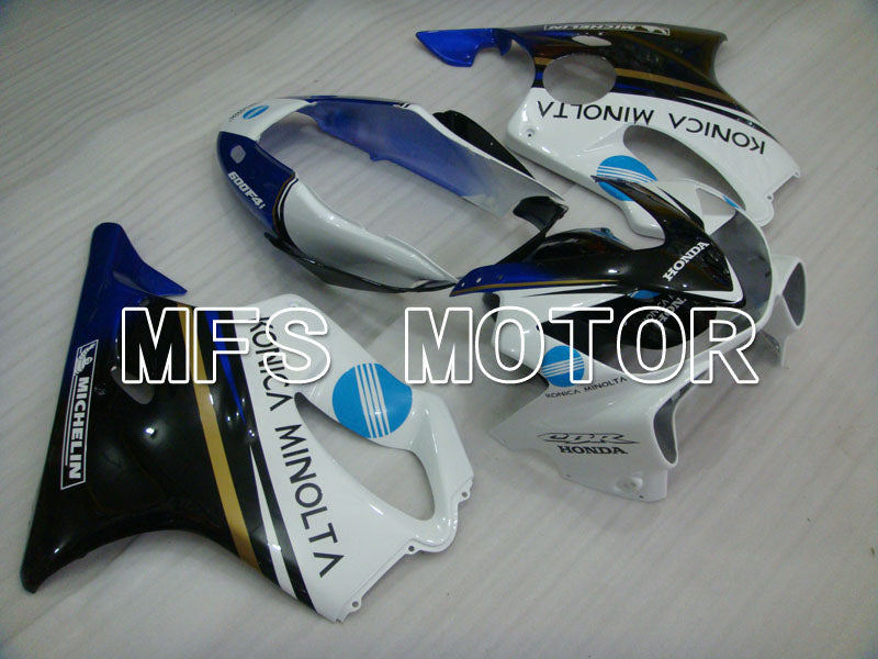Injection ABS Fairing For Honda CBR600 F4i 2004-2007 - Konica Minolta - Black White - MFS3180 - shopping and wholesale