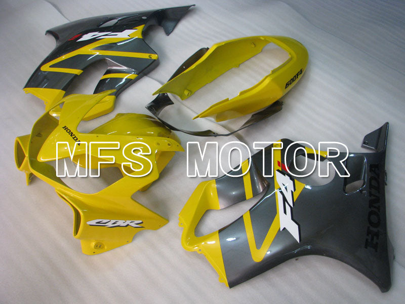 Injection ABS Fairing For Honda CBR600 F4i 2004-2007 - Fabrikkstil - Svart Gul - MFS3181 - Shopping og engros