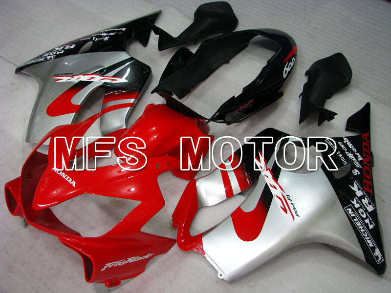 Injection ABS Fairing For Honda CBR600 F4i 2004-2007 - Factory Style - Black Red Silver - MFS3183 - shopping and wholesale