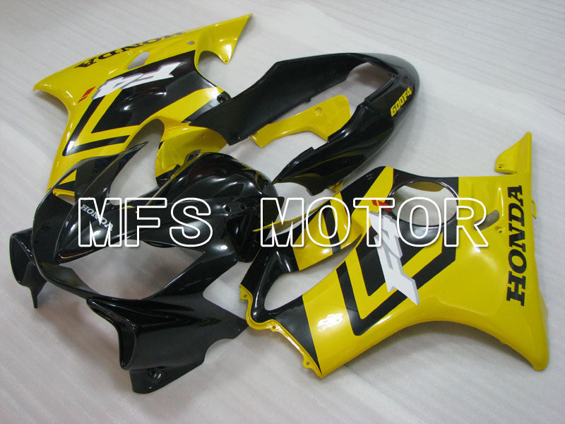 Injection ABS Fairing For Honda CBR600 F4i 2004-2007 - Fabrikkstil - Svart Gul - MFS3194 - Shopping og engros