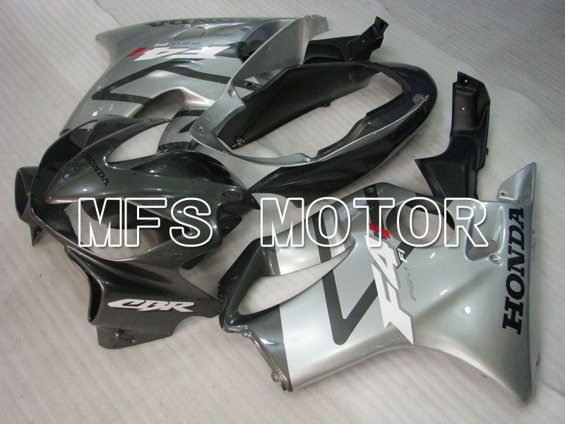 Injection ABS Fairing For Honda CBR600 F4i 2004-2007 - Fabrikkstil - Svart Sølv - MFS3196 - Shopping og engros