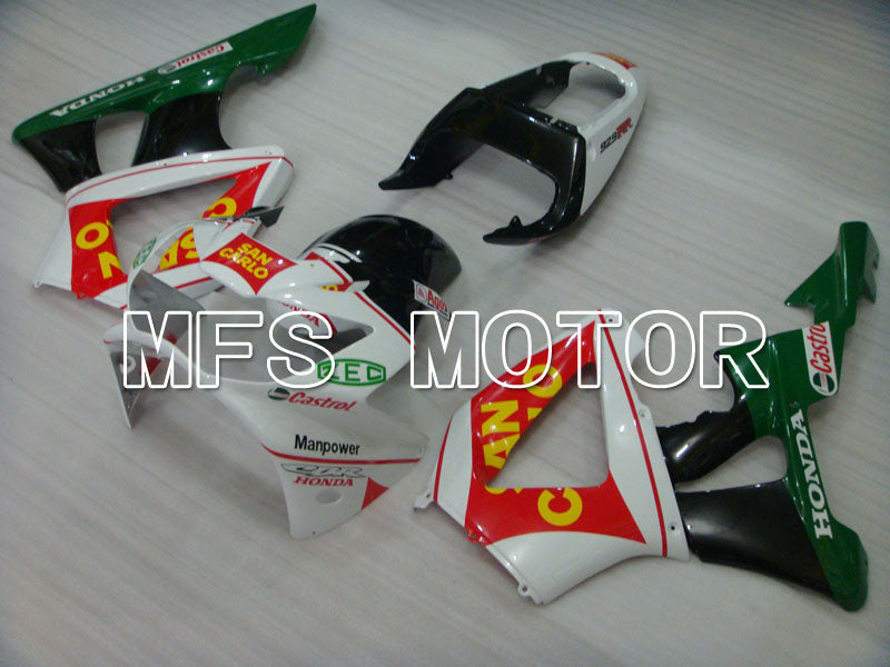 Injection ABS Fairing For Honda CBR900RR 929 2000-2001 - San Carlo - Green White - MFS3212 - shopping and wholesale