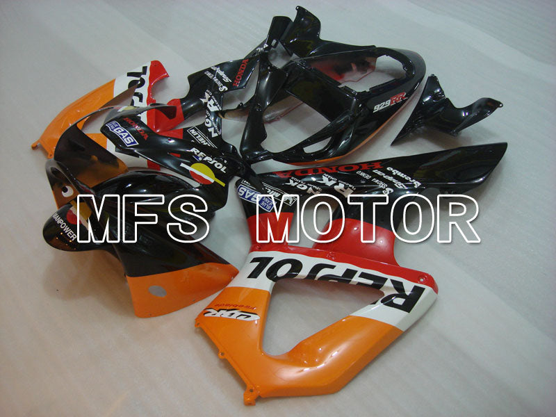 Injection ABS Fairing For Honda CBR900RR 929 2000-2001 - Repsol - Black Orange Red - MFS3220 - shopping and wholesale